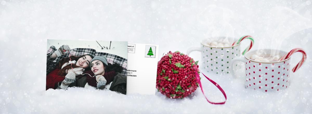 Weihnachtsgrüße bequem online gestalten