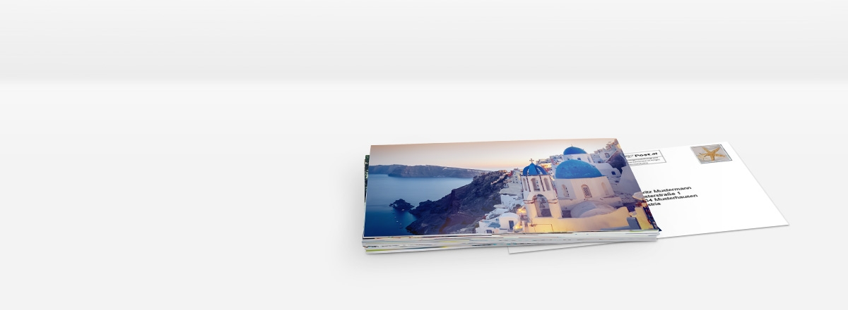Foto-Postkarte Massenversand