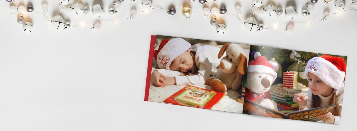 Individuelle Fotobücher als Weihnachtsgeschenk