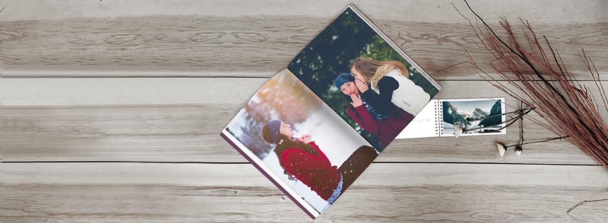 Premium Fotobücher um 30% reduziert